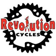 Revolution Cycles logo charity build a bike